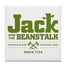 Jack & the Beanstalk Since 1734 Tile Coaster
