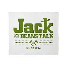 Jack & the Beanstalk Since 1734 Throw Blanket