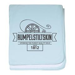 Rumpelstiltskin Since 1812 baby blanket