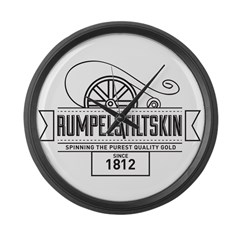 Rumpelstiltskin Since 1812 Large Wall Clock