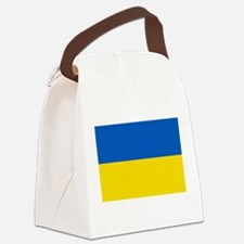 Flag of the Ukraine Canvas Lunch Bag