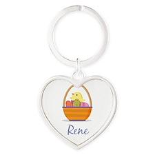 Easter Basket Rene Keychains