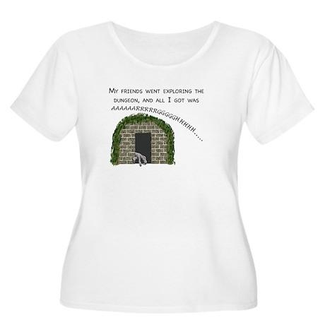Dungeon souvenir Plus Size T-Shirt