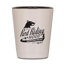Little Red Riding Hood Since 1697 Shot Glass