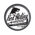 Little Red Riding Hood Since 1697 Wall Clock