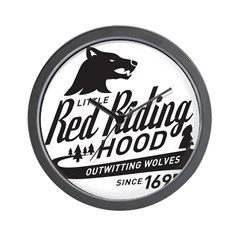 Little Red Riding Hood Since 1697 Wall Clock