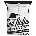 Little Red Riding Hood Since 1697 Queen Duvet