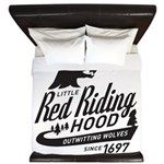 Little Red Riding Hood Since 1697 King Duvet