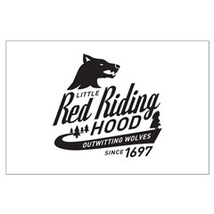 Little Red Riding Hood Since 1697 Posters