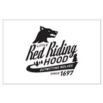 Little Red Riding Hood Since 1697 Large Poster