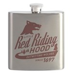 Little Red Riding Hood Since 1697 Flask