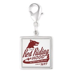 Little Red Riding Hood Since 1697 Silver Square Ch