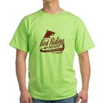 Little Red Riding Hood Since 1697 Green T-Shirt