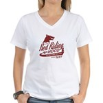 Little Red Riding Hood Since 1697 Women's V-Neck T