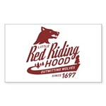 Little Red Riding Hood Since 1697 Sticker (Rectang