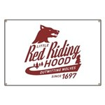 Little Red Riding Hood Since 1697 Banner
