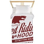 Little Red Riding Hood Since 1697 Twin Duvet
