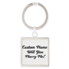 Marry Me Personalized Keychains