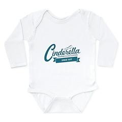 Cinderella Since 1697 Long Sleeve Infant Bodysuit