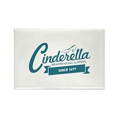 Cinderella Since 1697 Rectangle Magnet (100 pack)