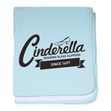 Cinderella Since 1697 baby blanket