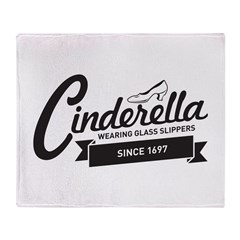 Cinderella Since 1697 Throw Blanket