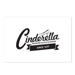 Cinderella Since 1697 Postcards (Package of 8)