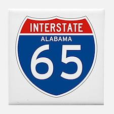 Interstate 65 - AL Tile Coaster