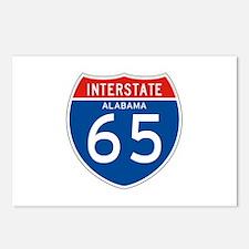 Interstate 65 - AL Postcards (Package of 8)