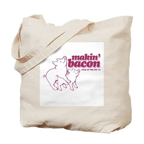 Year of The Pig 2007 Tote Bag
