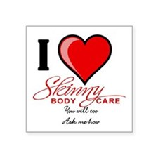 Skinny Body Care Sticker