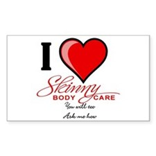 Skinny Body Care Decal