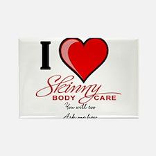 Skinny Body Care Rectangle Magnet