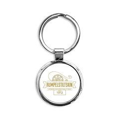 Rumpelstiltskin Since 1812 Round Keychain