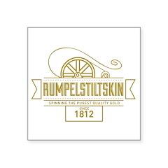 Rumpelstiltskin Since 1812 Square Sticker 3