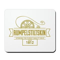 Rumpelstiltskin Since 1812 Mousepad