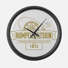 Rumpelstiltskin Since 1812 Large Wall Clock