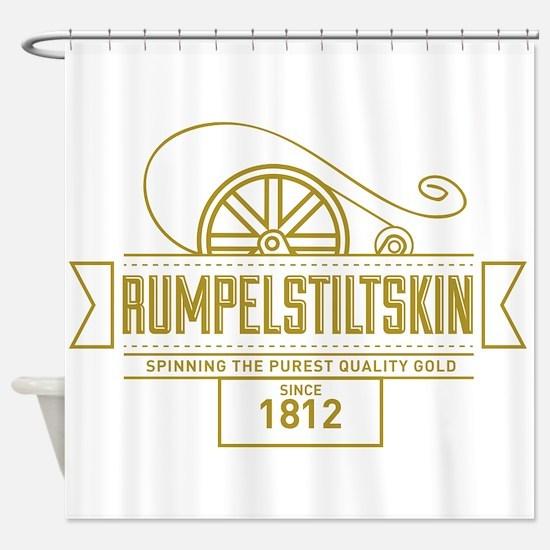 Rumpelstiltskin Since 1812 Shower Curtain