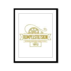 Rumpelstiltskin Since 1812 Framed Panel Print