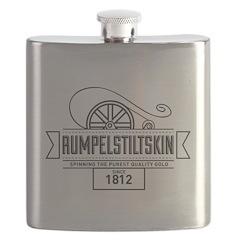 Rumpelstiltskin Since 1812 Flask