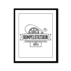 Rumpelstiltskin Since 1812 Framed Panel Print