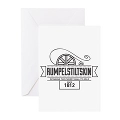 Rumpelstiltskin Since 1812 Greeting Cards (Pk of 2