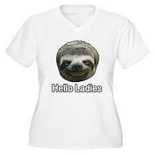 The Sloth Plus Size T-Shirt