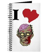 I LOVE ZOMBIES GRAPHIC TSHIRT Journal