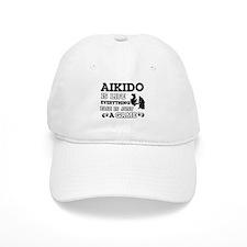 Aikido is life Baseball Cap