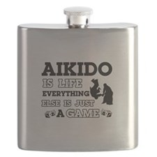 Aikido is life Flask