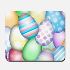 Decorated Eggs Mousepad