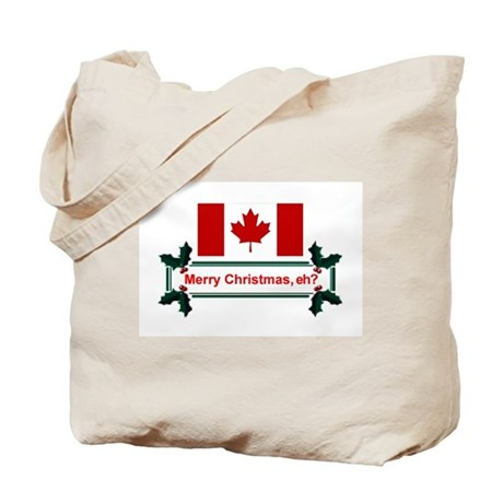 Canadian Christmas, eh? Tote Bag