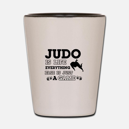 Judo is life Shot Glass
