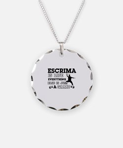 Escrima is life Necklace